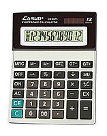 Калькулятор 12р Canuo 8875 (размер 19,5*14,7см)