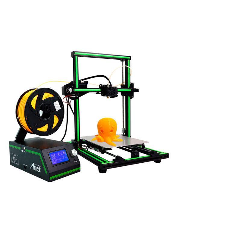 3D принтер ANET E10 (демонтаж)