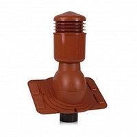 Вентиляционный выход К92 (изолированный) D 125/110 мм Н 550 мм для низкопрофилированной металлической кровли, фото 1
