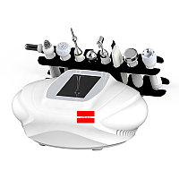 Аппарат косметологический 8 в 1 скрабер вакуум Окси ген спреер микротоки RF фонофорез