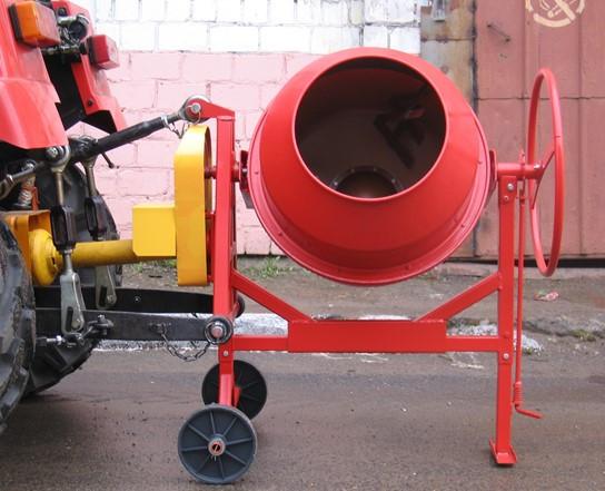 Бетоносмеситель навесной БСН-320 для трактора Беларус 320/422/622
