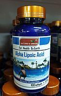 Капсулы Альфа-липоевая кислота - Alpha Lipoic Acid 100 кап.