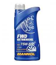 Трансмиссионное масло MANNOL FWD Getriebeoel 75W-85 API GL 4 для МКПП 1L