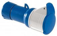 Кабельная розетка винт.16А 2Р+Е IP44 220В /PKF16M423/