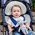 Детский  матрас в коляску  дышащий, фото 2