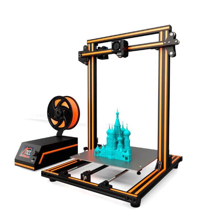 3D принтер ANET E16 (демонтаж)