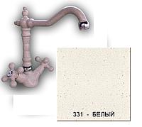 Кухонный смеситель Gran-Stone GS 4063 331 белый