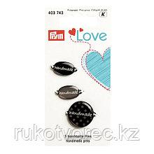 Эмблемы Handmade Prym Love, металл/пластик,, Prym