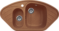 Кухонная мойка Gran-Stone  GS 14 307 терракот