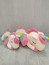 Мягкая игрушка пегас розовый 60см