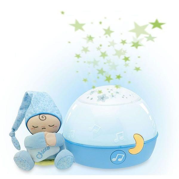 Ночник-проектор Chicco Сладких снов голубой  0м+