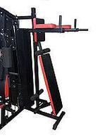 Тренажер силовой HG-0503 A.Многофункциональный силовой тренажер. Допустимая масса груза :140 кг.Вес грузов: 70