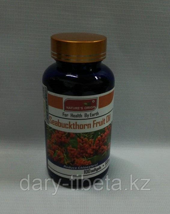 Капсулы Фруктовое масло облепихи - Seabuckthorn Fruit Oil