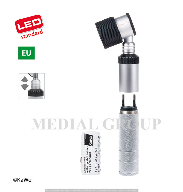 KaWe EUROLIGHT D30 LED / ЕС 3,5 В дерматоскоп