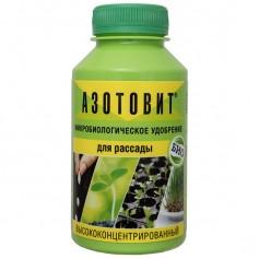 Микробиологическое удобрение азотовит для рассады высококонцентрированное 220 мл
