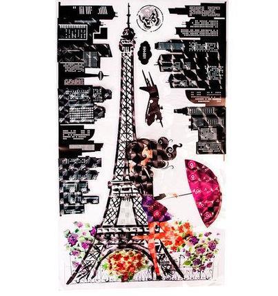 Наклейки 5D для декора интерьера «Эйфелева башня» GG-001 (GG-001), фото 2