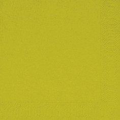 Салфетки 33х33см, 2 сл., киви, Бумага, 125 шт