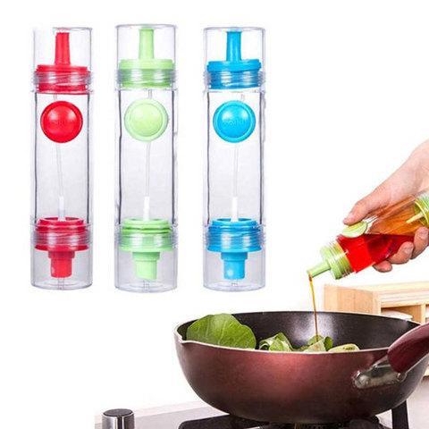 Бутылка-дозатор с распылителем для масла и соуса 2 WAY Soy sauce Bottle