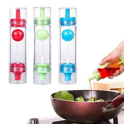 Бутылка-дозатор с распылителем для масла и соуса 2 WAY Soy sauce Bottle, фото 2