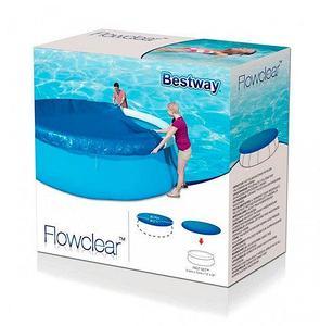 Тент Bestway 58032-58034 для круглого надувного бассейна [244, 366 см] (366 см)