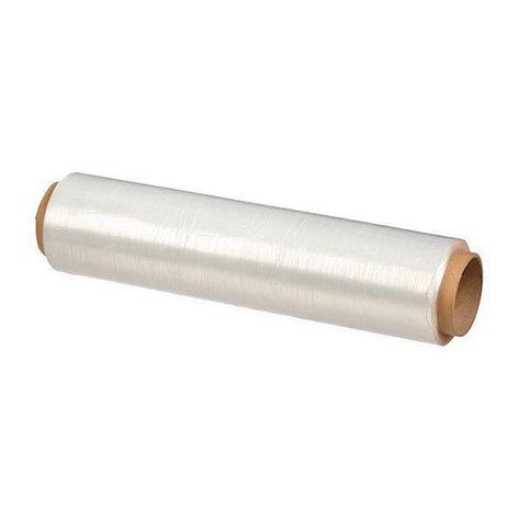 Плёнка ПЭ пищ. 300мм х 250м белая 7 мкм, фото 2