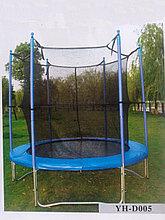 Батут с защитной сеткой диаметр 180 см