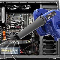 Воздуходувка (дутель) для прочистки компьютерной и бытовой техники от пыли, фото 1