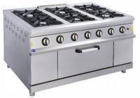 Промышленная газовая плита 6-ти конф.с духовки