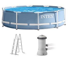 Каркасный бассейн Intex 26706 (305 х 99 см, на 6000 литров ), фото 2