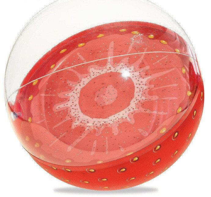 Мяч надувной «Клубничка» (диаметр 46 см)