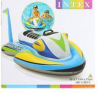 Игрушка надувная  «Скутер» с ручками (117х77 см, от 3 лет, INTEX), фото 2