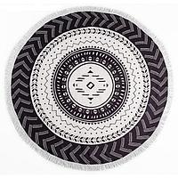 """Полотенце пляжное """"Black&White"""" (диаметр 150 см), фото 2"""