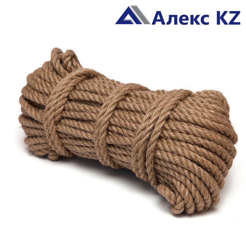 Верёвка джутовая d14 мм (50 м.) Сибшнур