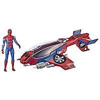 Человек-паук Spiderman с самолетом. Игровой набор Hasbro, фото 1