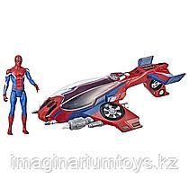 Человек-паук Spiderman с самолетом. Игровой набор Hasbro