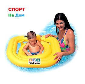 Надувной круг для обучения плаванию от 1 до 3 лет Intex 58577 (79 x 79 см)