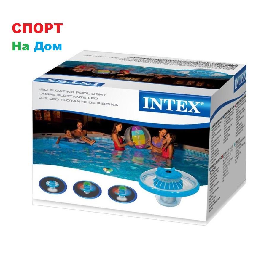 Плавающая светодиодная подсветка для бассейнов INTEX 28690 (16 х 16 см)