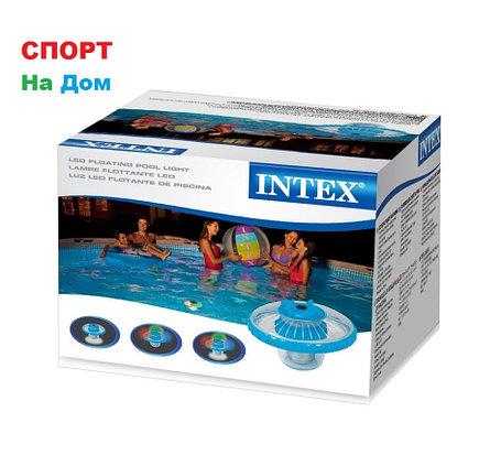 Плавающая светодиодная подсветка для бассейнов INTEX 28690 (16 х 16 см), фото 2