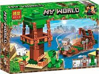 Конструктор Bela Minecraft 11131 Нападение с воды