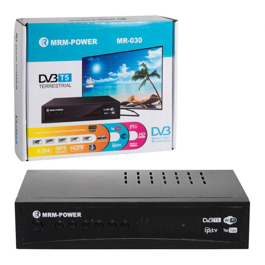 Цифровой ресивер DVB-T5 MRM-POWER MR-030 +HD плеер 1080i