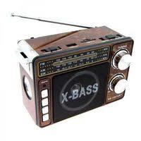 Радиоприемник HONG SHENG HS-1061URT USB,FM,SD,фонарь