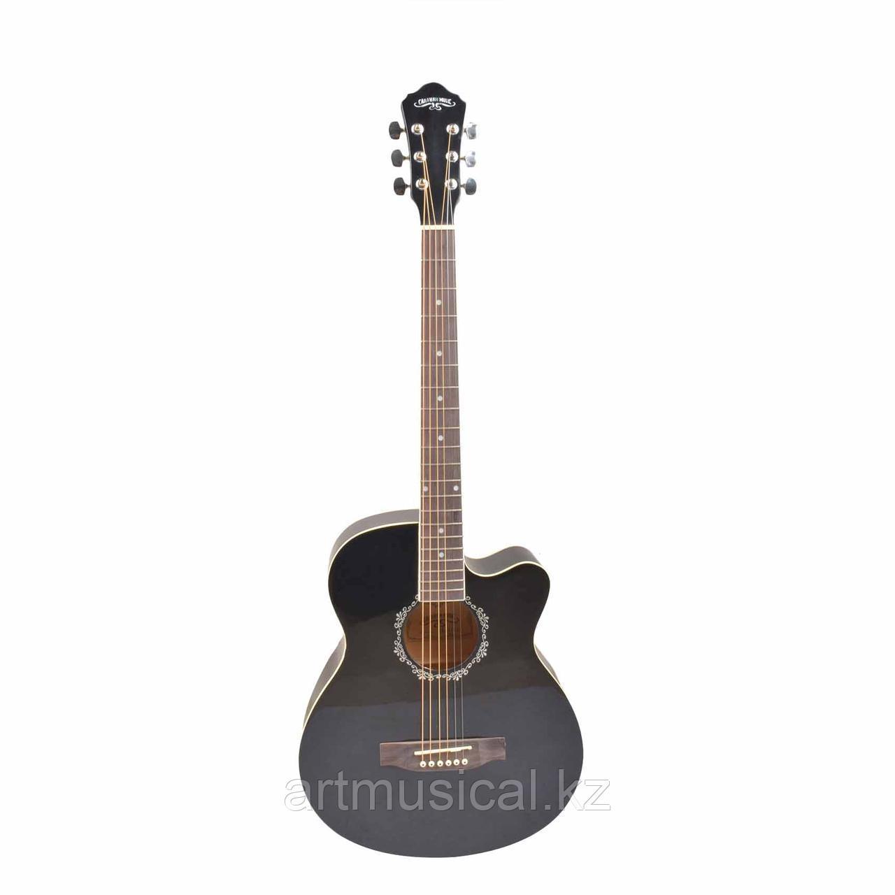 ГИТАРА CARAVAN MUSIC HS-3910 BK