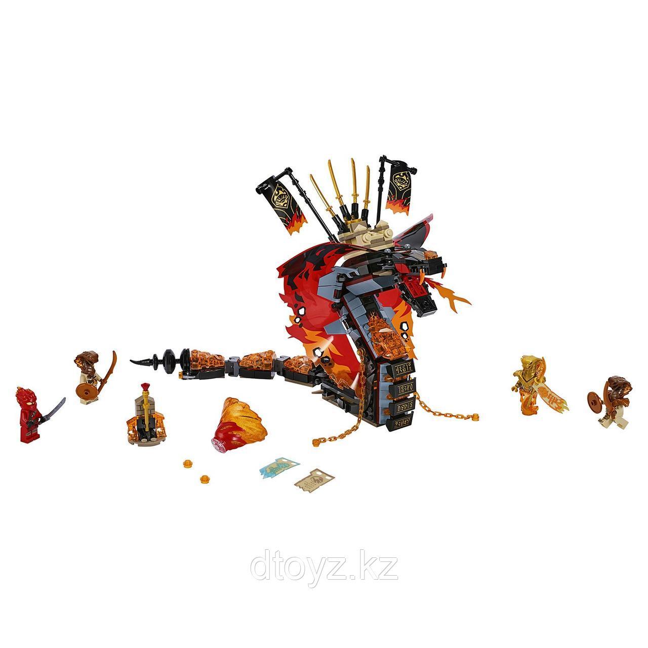 Lego Ninjago 70674 Огненный кинжал, Лего Ниндзяго - фото 2