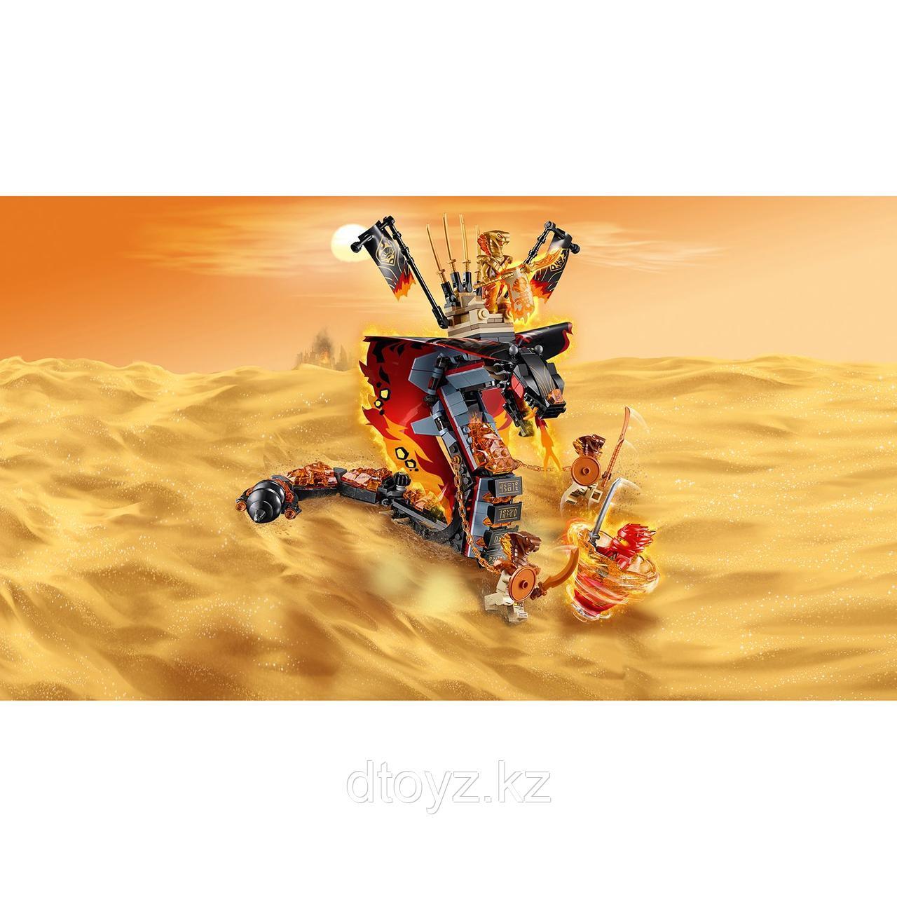 Lego Ninjago 70674 Огненный кинжал, Лего Ниндзяго - фото 9
