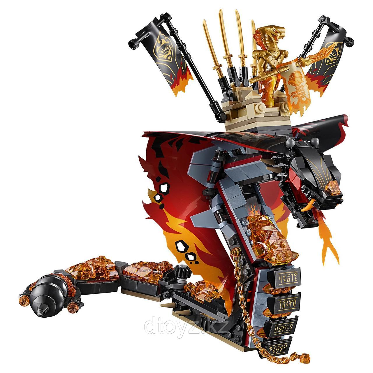 Lego Ninjago 70674 Огненный кинжал, Лего Ниндзяго - фото 3