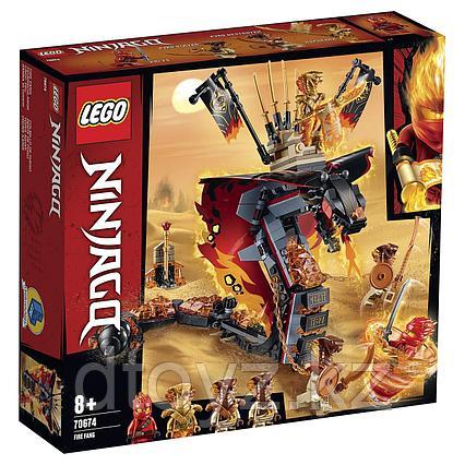 Lego Ninjago 70674 Огненный кинжал, Лего Ниндзяго
