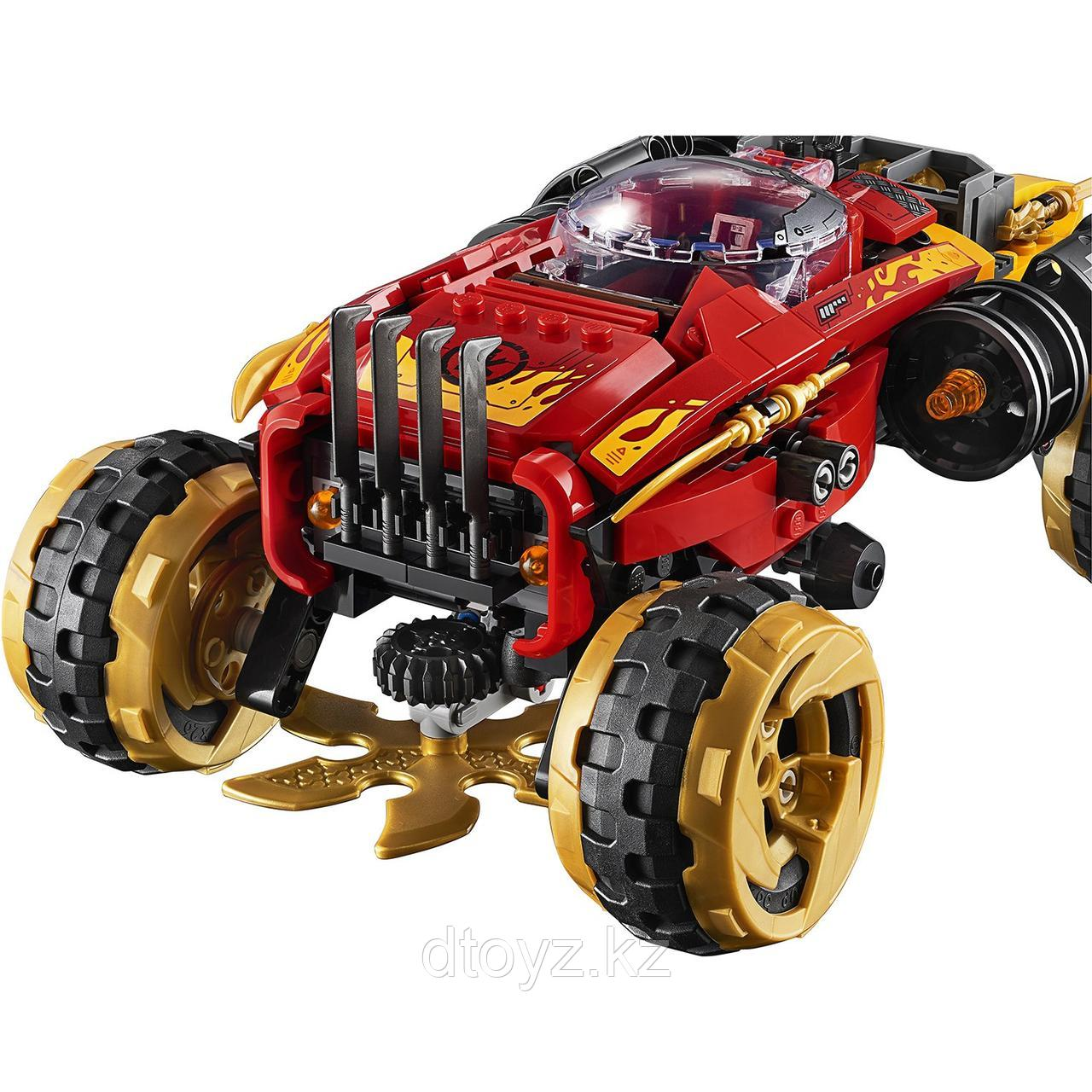 Lego Ninjago 70675 Внедорожник Катана 4x4, Лего Ниндзяго - фото 6