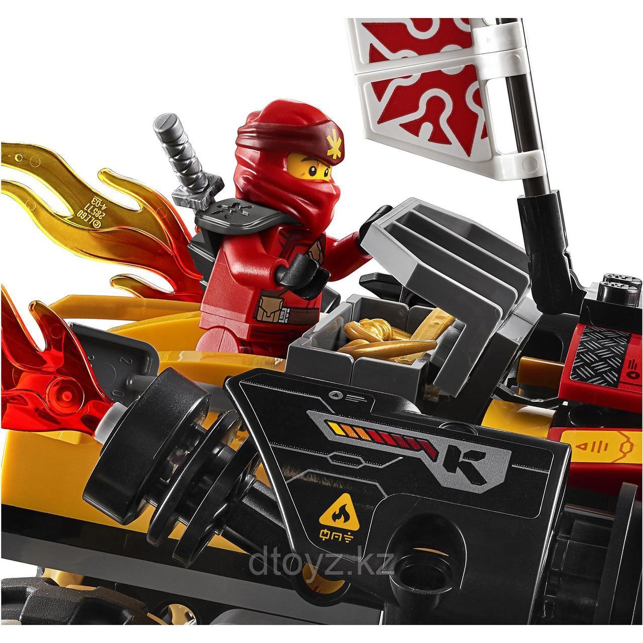 Lego Ninjago 70675 Внедорожник Катана 4x4, Лего Ниндзяго - фото 10