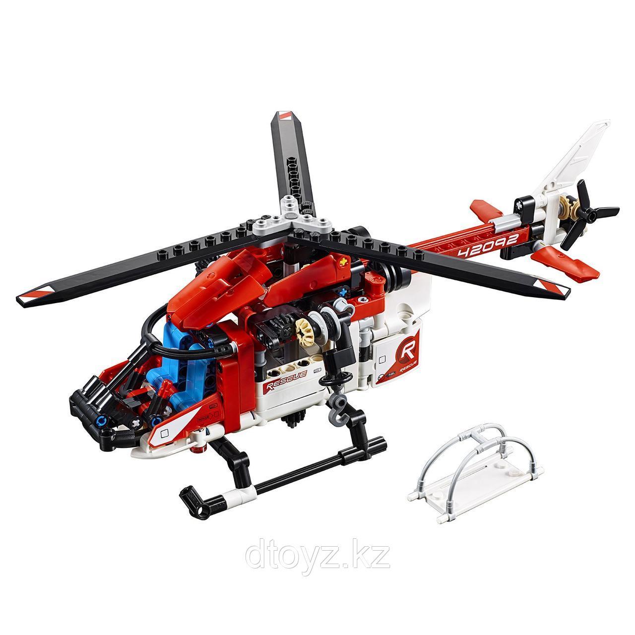 Lego Technic 42092 Спасательный вертолёт, Лего Техник - фото 3