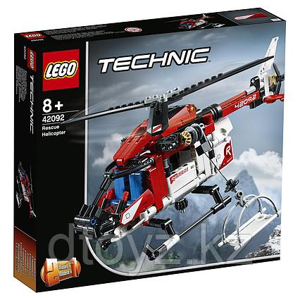 Lego Technic 42092 Спасательный вертолёт, Лего Техник